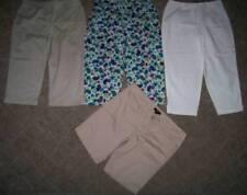SAG HARBOR/MOSSIMO/LESLIE FAY CROPPED PANTS/SHORTS LOT (4pr) Size 16