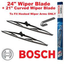 "Bosch Super Plus Front Wiper Blades 24"" SP24 and 21"" SP21JS Pair Windscreen"