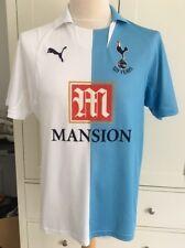 Tottenham Hotspur Shirt Puma 2007 2008 125 Years Anniversary White Blue Medium