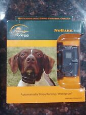 SportDOG Big Dog Bark Control No Bark Collar Rechargeable SBC-10R