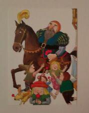 carte postale Tomi Ungerer Le Géant de Zéralda 1993