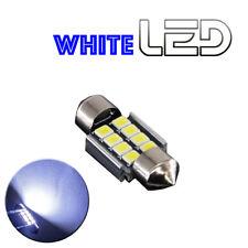 1 Ampoule navette c3w 31 mm 31mm 8 LED SMD Blanc résistance anti erreur  ODB