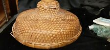 Vintage Conical Hat Handmade Chinese Coolie (Z)C1 B