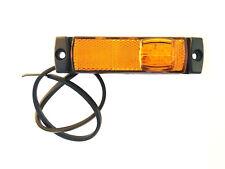 LED Begrenzungsleuchte 12V 24V Umrissleuchte Gelb Anhänger LKW 130x32x14,5 UNIV