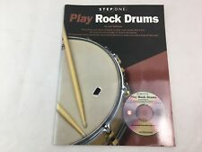 Play Rock Drums - Step One - Joel Rothman - With CD - Tuition Book - (A)