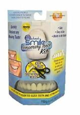 Instant Smile Temporary Tooth Kit 10pc False Teeth W Custom Fitting Material