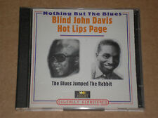 BLIND JOHN DAVIS / HOT LIPS PAGE - THE BLUES JUMPED... - 2 CD COME NUOVO (MINT)