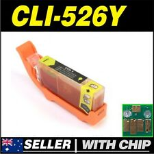 1x Yellow Ink for CANON CLI-526Y for iP4850 iP4950 iX6550 MG5150 MG5250 MG5350