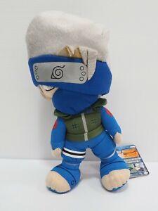 "Naruto Kakashi Hatake Banpresto 2006 Plush 8"" Stuffed TAG Toy Doll Japan"