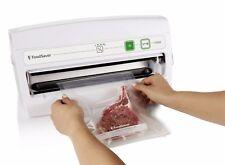 New FoodSaver V3040 Vertical Vacuum Food Sealing System White