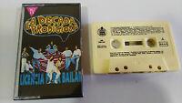 LA DECADA PRODIGIOSA Lizenz para Tanzen Kassette Tape Spanisch Edition 1991