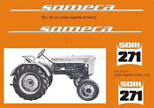 Kit stickers tracteur someca 271