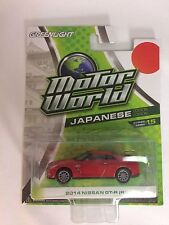 GREENLIGHT Motor World R15 Japanese Edition 2014 Nissan Skyline GTR-R35