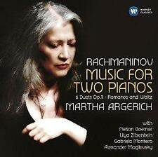 Martha Argerich - Rachmaninov: Music For Two Pianos (NEW CD)