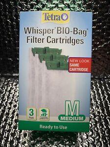 Tetra Whisper Assembled Bio-Bag Filter Medium Cartridges, Total of 5 Bags.
