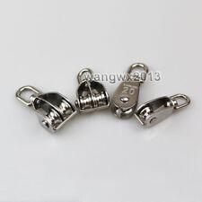 304ss Swivel Pulley Sheave Rigging Metal Lift Hoist Rope Hanging Lifting Wheel