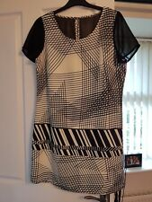 Next abstract pattern dress size 10 petite