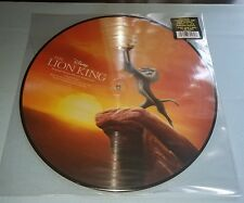 """NEW  Disney Parks Vinyl Record Collection Lion King 12"""" PICTURE DISC Simba Nala"""