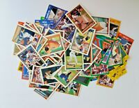 Lot Of 100 Baseball Sports Trading Cards, Topps Donruss Fleer Upper Deck Score