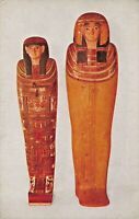 CHICAGO NATURAL HISTORY MUSEUM ILLINOIS~EGYPTIAN COFFINS POSTCARD