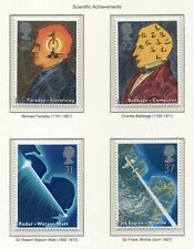 S2999) Uk Great Britain 1991 Mnh Inventions 4v