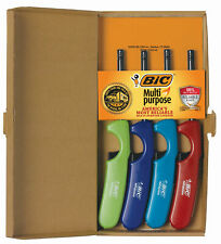 Bic Multi-purpose Classic Edition Lighter, Assorted Colors, 4-Pack