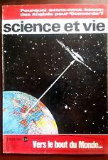 """Science et vie n°569 du 2/1965; ? avons-nous besoin des Anglais pour """"Concorde"""""""