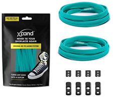 XPAND No Tie Elastic Shoe Laces - Teal