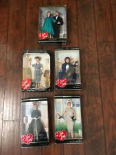 NIB Lot of 5 I Love Lucy Dolls Mattel Collection