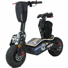MotoTec MT-Mad-1600_Blue Mad 1600W 48V Electric Scooter - Blue