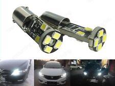 1 Paar H6W BaX9s 8-SMD LED Auto Tagfahrlicht Lampe Rücklicht Standlicht Weiß TFL