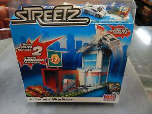 Mega Bloks Micro Motors - Stunt car set