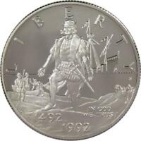 1992 S 50c Christopher Columbus Commemorative Half Dollar US Coin Choice Proof