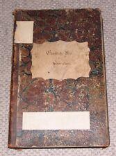 Alter Gemeinde Buch für Heiersdorf von 1839 Gemeindebuch Thüringen