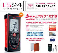 Leica DISTO X310 + Piastra Segnale GZM26 - Distanziometro Laser Leica Geosystems