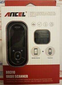 ANCEL BD310 Bluetooth OBD2 Scanner Code Reader Car Digital Gauge Diagnostic Tool