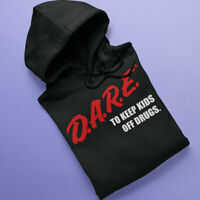 DARE Hoodie (D.A.R.E.) Vintage 80s 90s look comfy hoodie Retro gift S-5XL