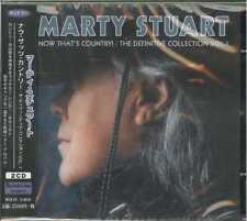 MARTY STUART-NOW THAT'S COUNTRY: DEFINITIVE COLLECTION VOL.1-JAPAN 2 CD F56