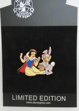 Disney Shopping Snow White and Dopey with Easter Eggs 2007 Jumbo LE Pin