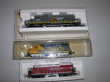 """Bachmann N Scale """"Seaboard SD40"""" ( tested)diesel & 2 for parts lot # 11211"""