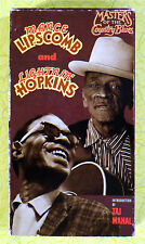 Masters of the Country Blues: Mance Lipscomb & Lightnin' Hopkins VHS Movie Video