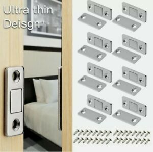 4/8Pcs Strong Magnetic Catch Latch Ultra Thin For Door Cabinet Cupboard CHEAPEST
