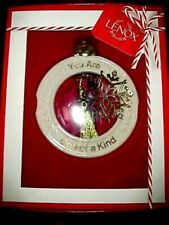 Lenox YOU ARE ONE OF A KIND Friend Ornament W/ 24K GOLD ACCENTS NEW IN BOX