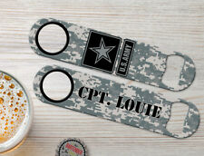 Military Edition: Army Personalized Bartender Bar Blades Custom Bottle Openers