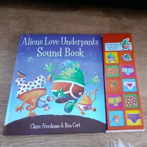 Aliens Love Underpants, Childrens Book With Sounds, Handback