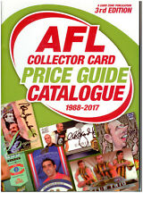 NEW-AFL COLLECTOR CARD PRICE GUIDE CATALOGUE (1988-2017 ) EDITION 3 (700 PAGES)