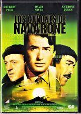 LOS CAÑONES DE NAVARONE de J. Lee Thompson Tarifa plana en envío dvd España, 5 €