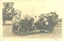 First Prize, Automobile Carnival, Glenson's Park, Middletown NY RPPC 1907