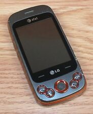LG Neon II GW370 - Gray & Orange (AT&T) GSM Cellular Slider Phone **READ**