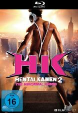 HENTAI KAMEN 2-THE ABNORMAL CRISIS - Osamu Adachi, Narushi Ikeda   BLU-RAY NEU